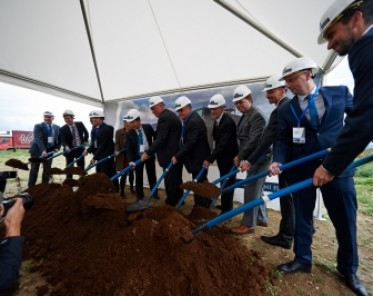 Výstavba Panattoni v Chebu pro čínskou BWI Group