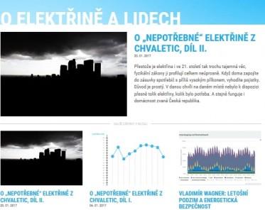Spustili jsme blog O elektřině a lidech